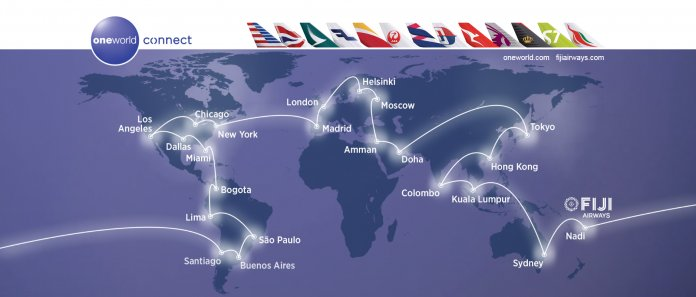 Oneworld global network – Royal Jordanian - Royal Jordanian